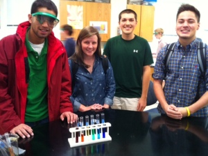 Ap Chem students at their best.