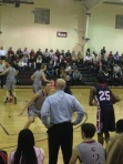 Basketball games against Providence day.