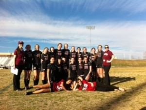 JV soccer won first game ever! Congratulations.