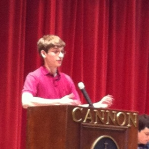 Josh told a great story about fair trial.