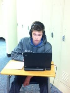 Sean uses Audacity to improve his foreign language skills.
