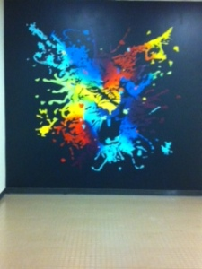 Check out the cougar at the end of freshmen hallway compliments of liz Wahid.