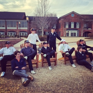 Boys Golf team.