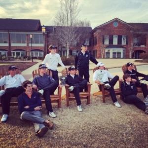 Boys Golf team.