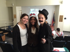 Juniors enjoyed exploring the roaring 20's in English class.