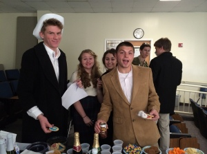Speakeasy day in English.