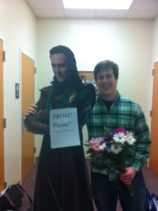 Creative ways to ask someone to prom.