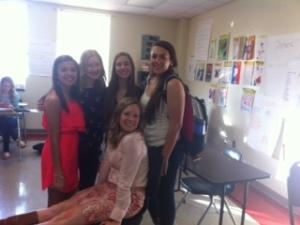 Freshmen love their advisor!