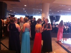 Some of Prom committee.
