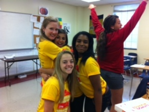 Freshmen got spirit!
