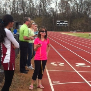 Couldn't get through the track meet so smoothly without parents' help.