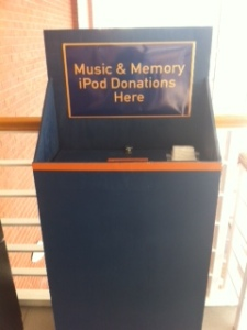 Cougars collect ipods to help others.