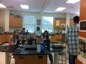 Chem lab with Barma!