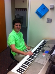 Will in Piano lab