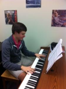 Tyler playing a wonderful tune.