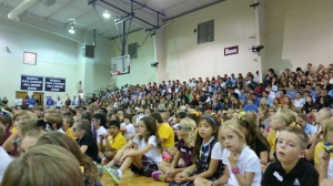 All school assembly was awesome!