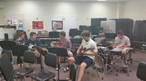 Wonderful Guns and Roses Jam session yesterday.