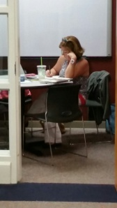 Fish Bowl is a great place for studying.
