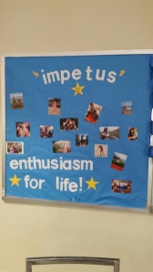 Impetus showing their spirit in the Commons.
