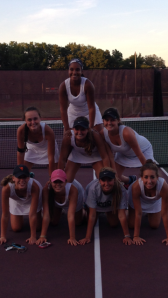 Congratulations girls tennis players on beating PDS for the first time in Cannon's history!!