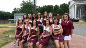 Tennis team rocks!