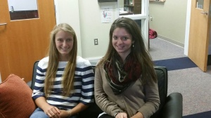 Theresa hosted German student Alina for two days. Thanks.