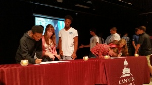 Honor Code signing
