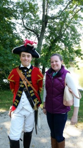 Diana met an interesting character in Boston.