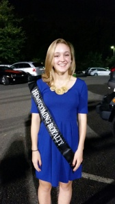 Homecoming princess Carrie