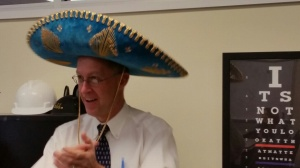 Fun to celebrate Mr. Coggins .