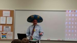 Mr Campbel enjoyed his celebration.