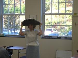 Celebrating our fabulous math teacher Olga.