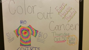Support our color run!
