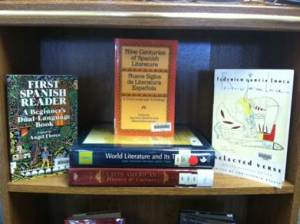 Upper school Shelfie