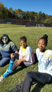 Smiles abounded after the Color Run.