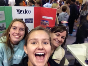 smiles all around for Wood's advisory at the International festival.