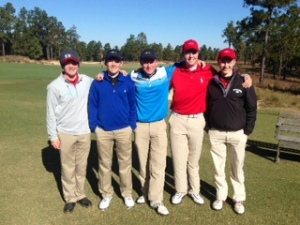 Great Job boys golfers.