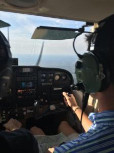 David Shaw takes flight.