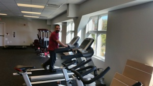 Mr. Hurtado and other faculty members are beginning to enjoy the strength and conditioning center. It's awesome.