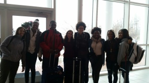 Good luck to a group of students who are off to Indiannapolis for a student leadership conference.