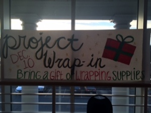 Project wrap in will be Dec 10th .