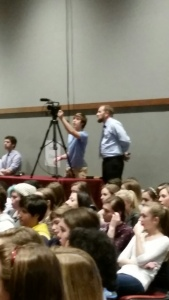 Thanks for videoing community meeting.