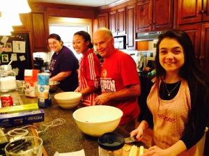 Pie making!