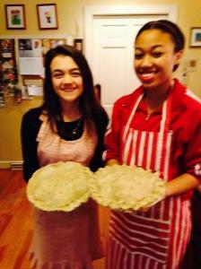 Beautiful looking pies.