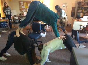 Yoga inspired yoga.