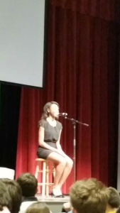 Thanks for sharing your beautiful voice with us Sierra.