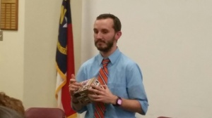 Thank you Mr. Taylor for sharing your box of magic with faculty.