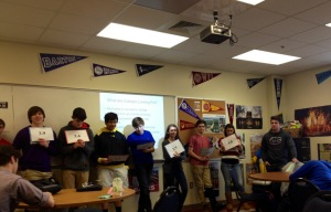 sophomores play the GPA game.