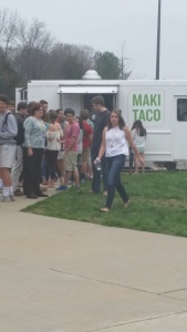 Food trucks are always a hit.
