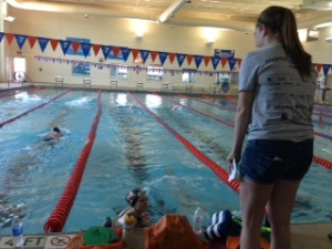 Congratulations to Taylor Shue who hosted a swim a thon for her capstone.